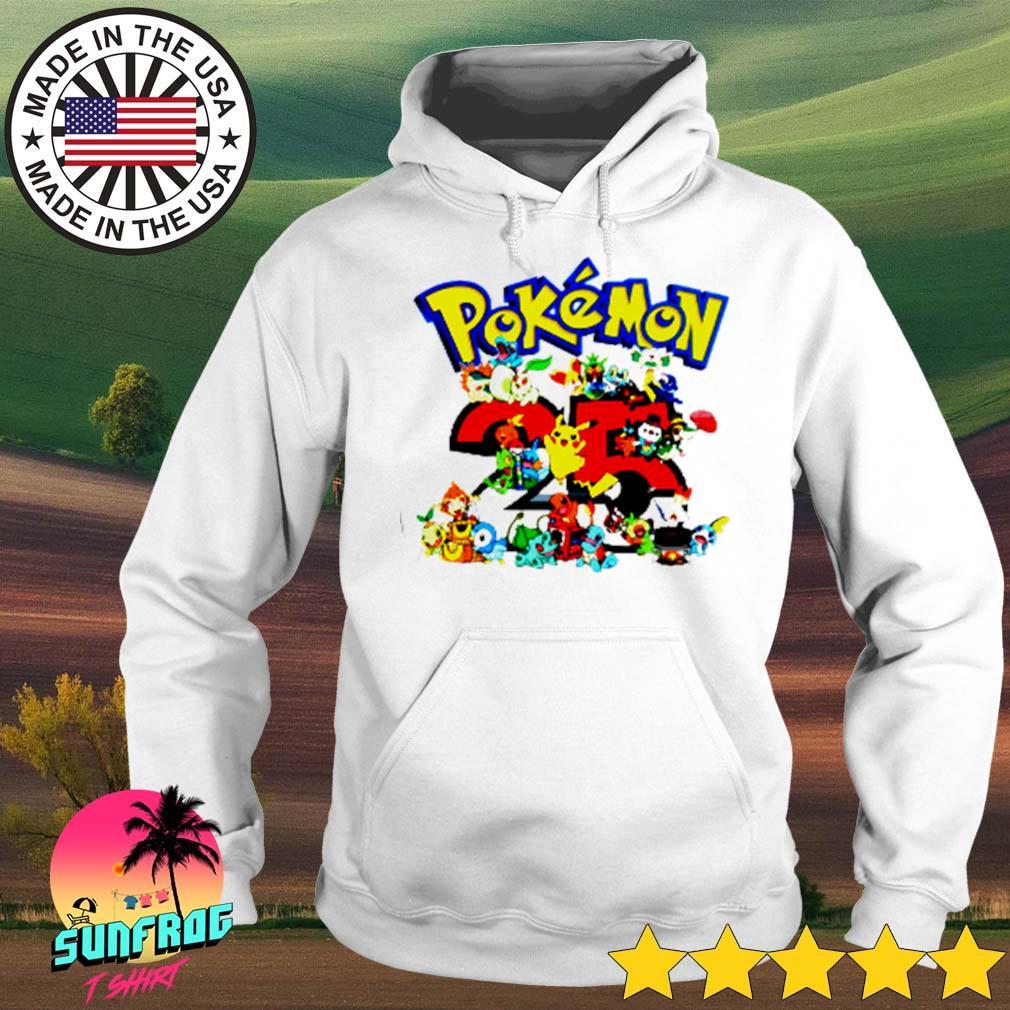 Pokemon 25th anniversary s Hoodie