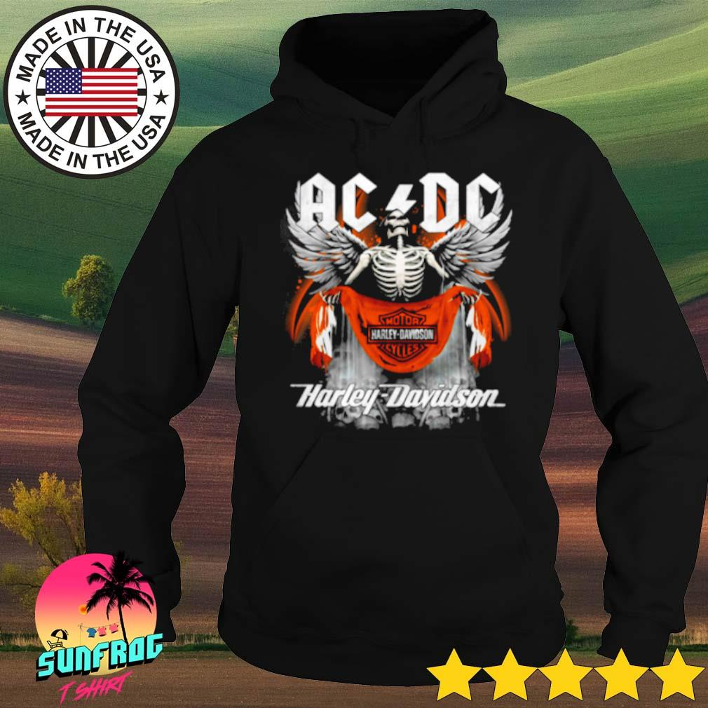 Skull ACDC motor Harley-Davidson cycles s Hoodie