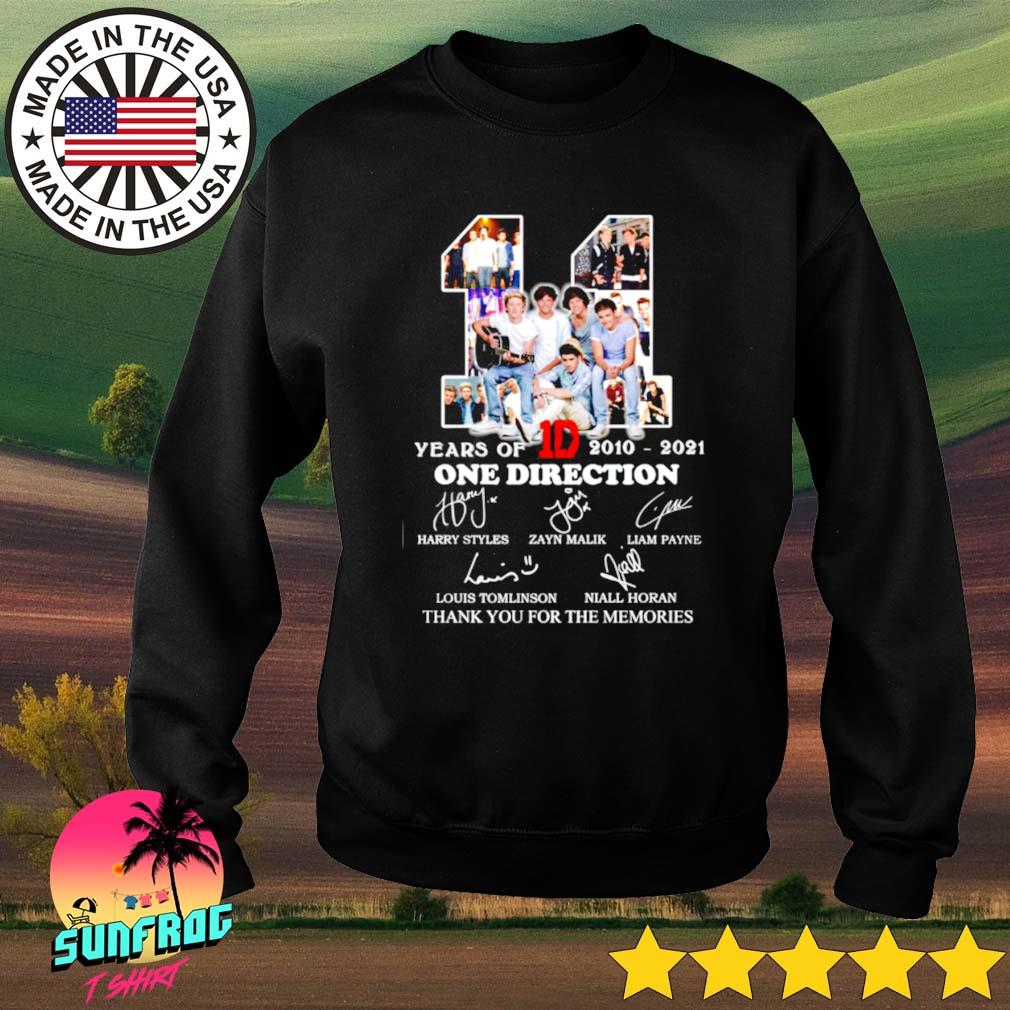 11 Years of 1D One direction 2010-2021 thank you for the memories s Sweater