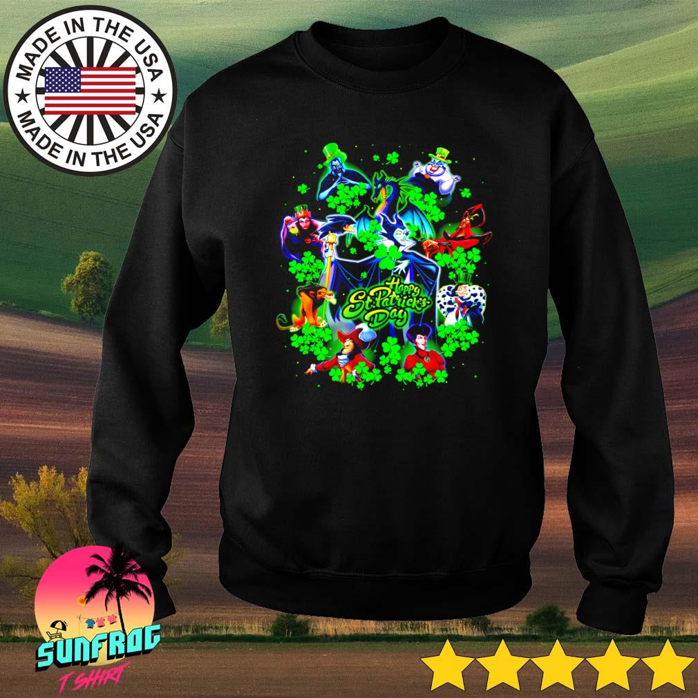 Disney Villains happy St. Patrick's Day s Sweater