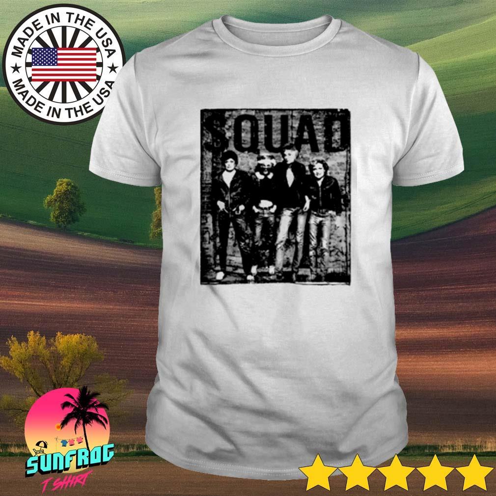 Minor threat Ramones Squad shirt