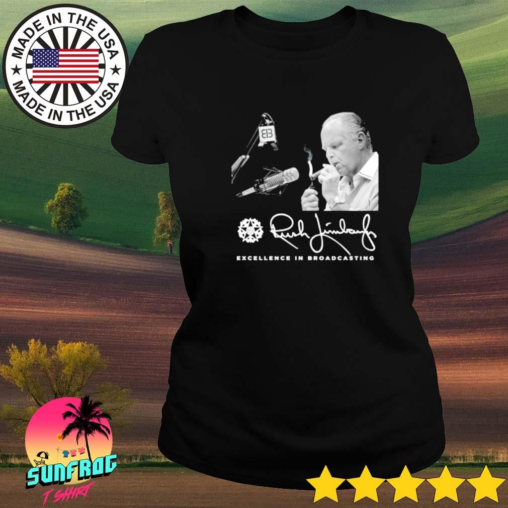 Rush Limbaugh excellence in broadcasting s Ladies tee