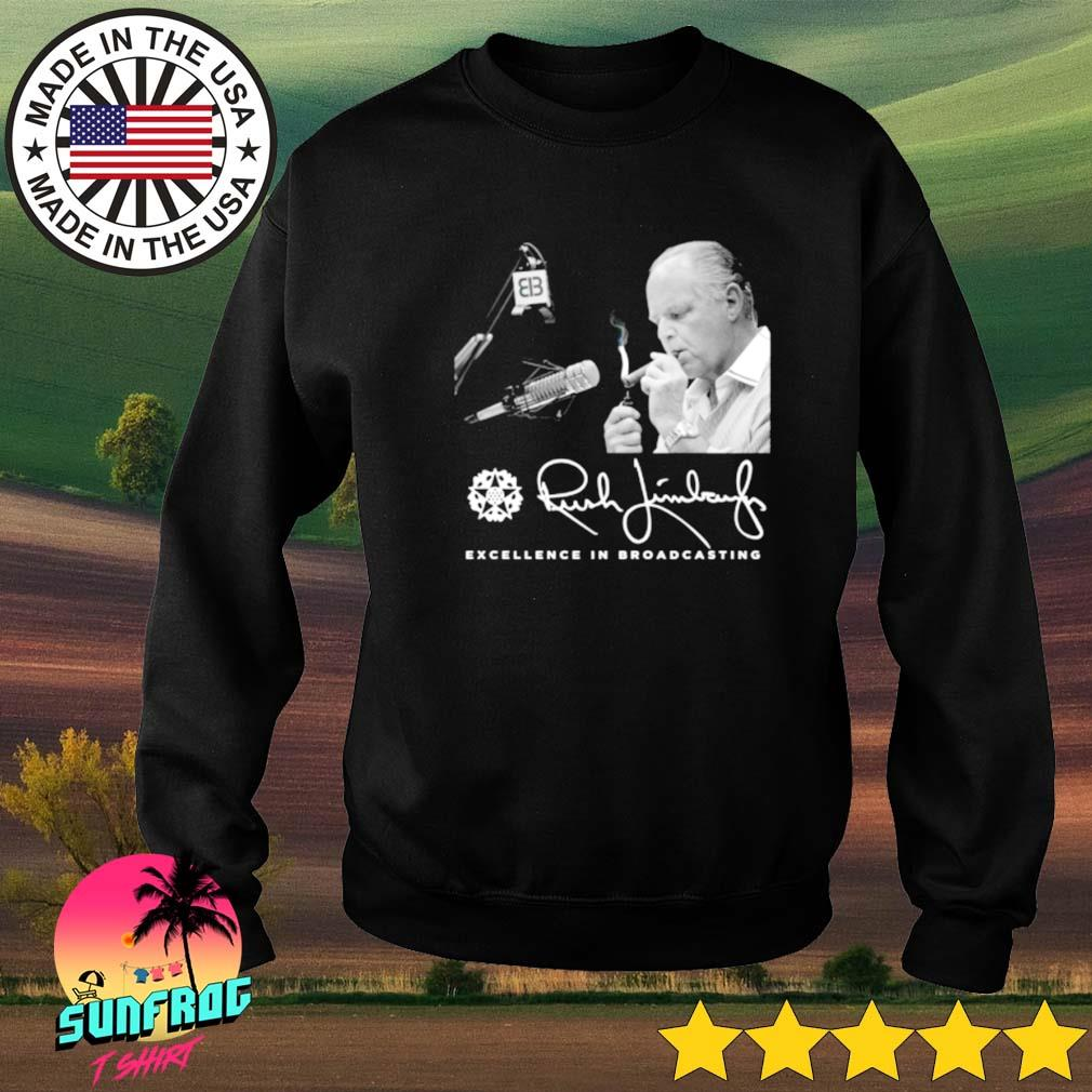 Rush Limbaugh excellence in broadcasting s Sweater