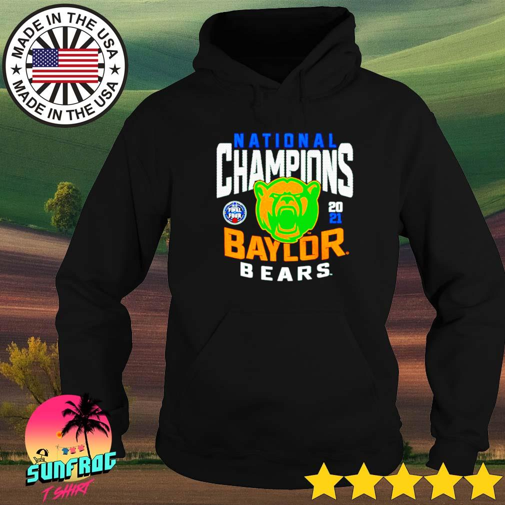 2021 Win Baylor Bears national champions Hoodie