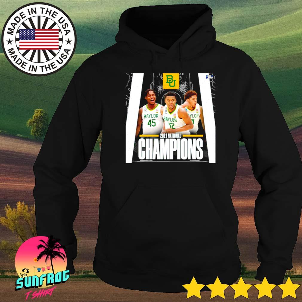 Baylor Bears 2021 national Champions Davion Mitchell Jared Butler March Madness Hoodie