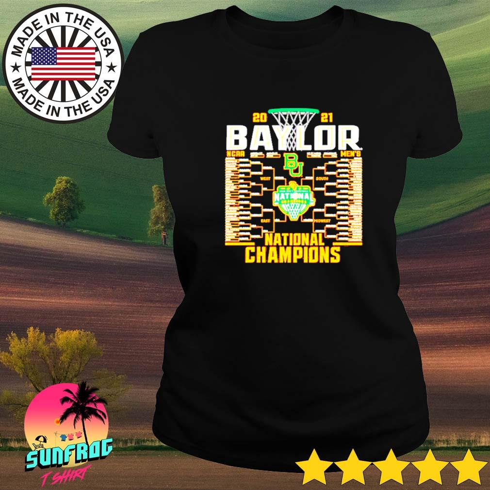 Baylor Bears Blue 84 2021 NCAA Men's Basketball National Champions Ladies tee