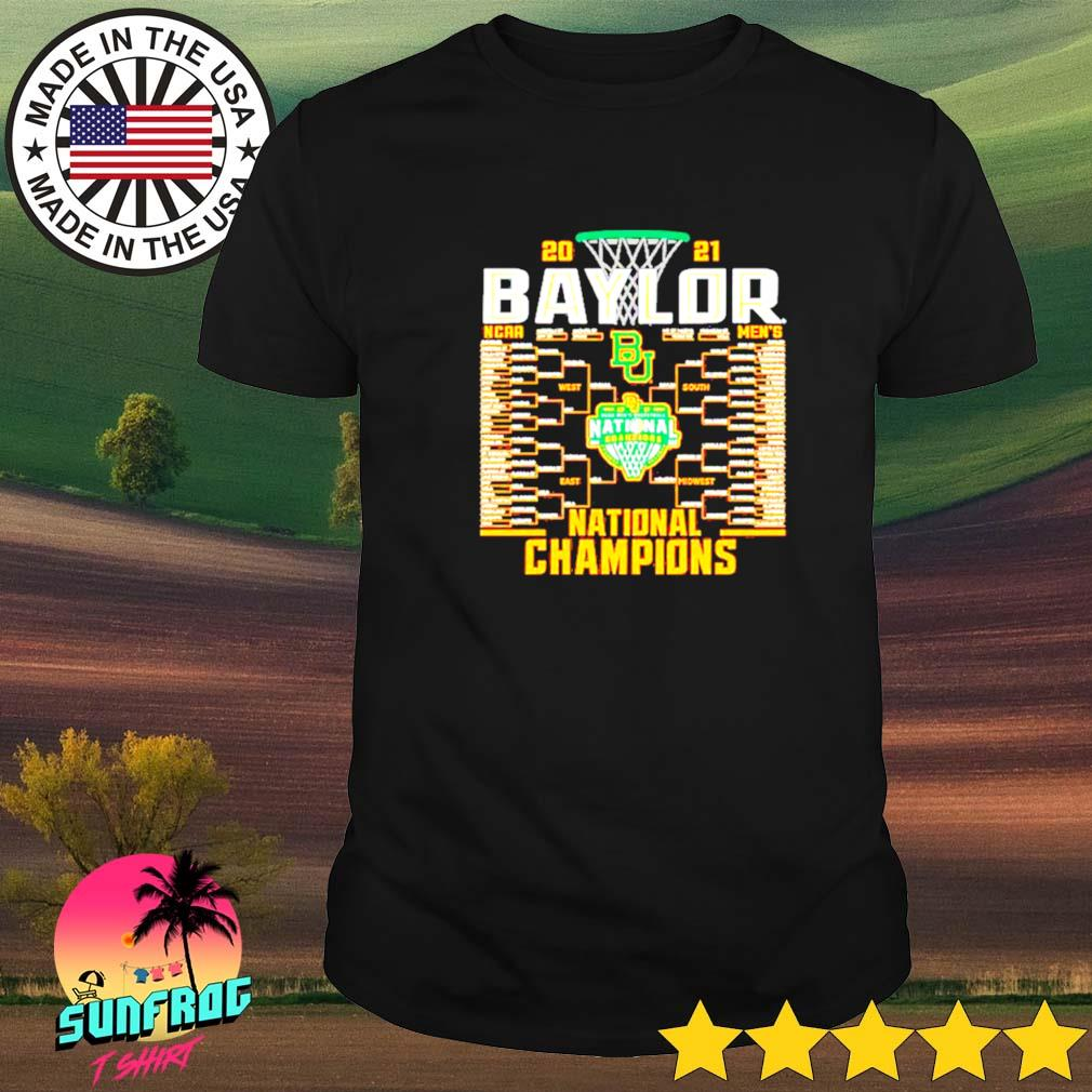Baylor Bears Blue 84 2021 NCAA Men's Basketball National Champions shirt