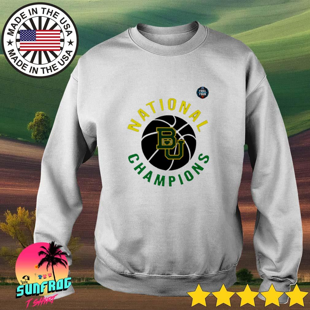 Baylor Bears National Champions NCAA men's basketball final four 2021 Sweater