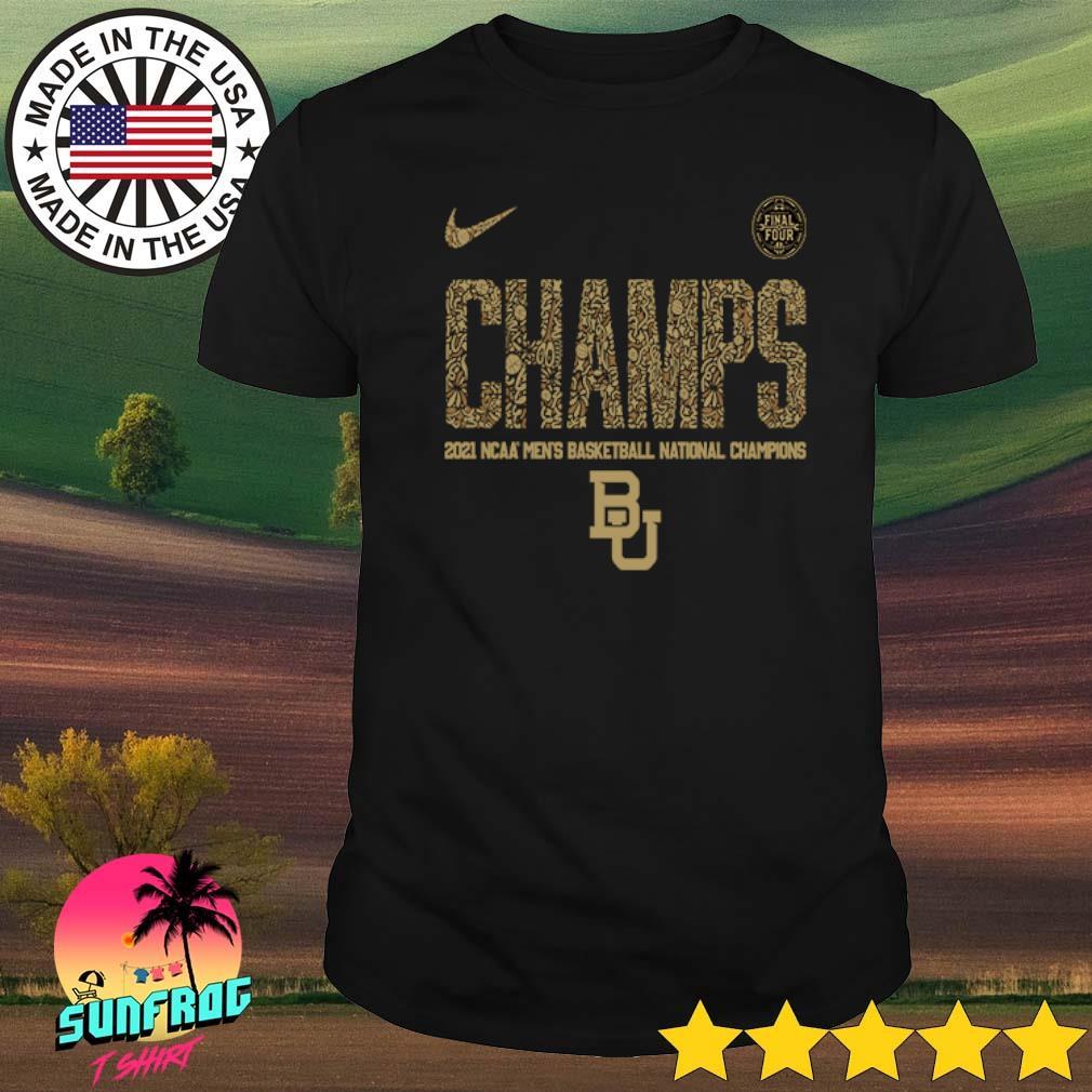 Baylor Bears Nike 2021 NCAA Men's Basketball National Champions Indianapolis Final Four shirt