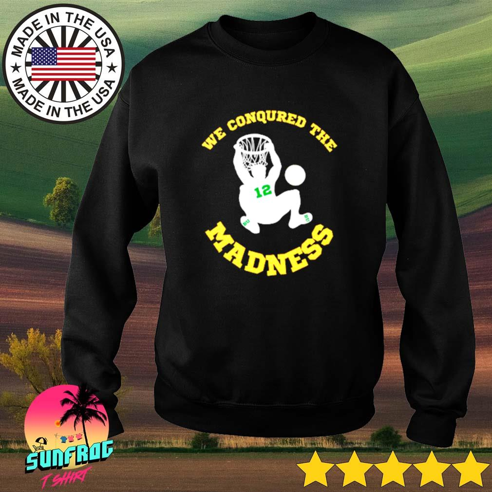 BU basketball Jared Butler we conquered the madness Sweater