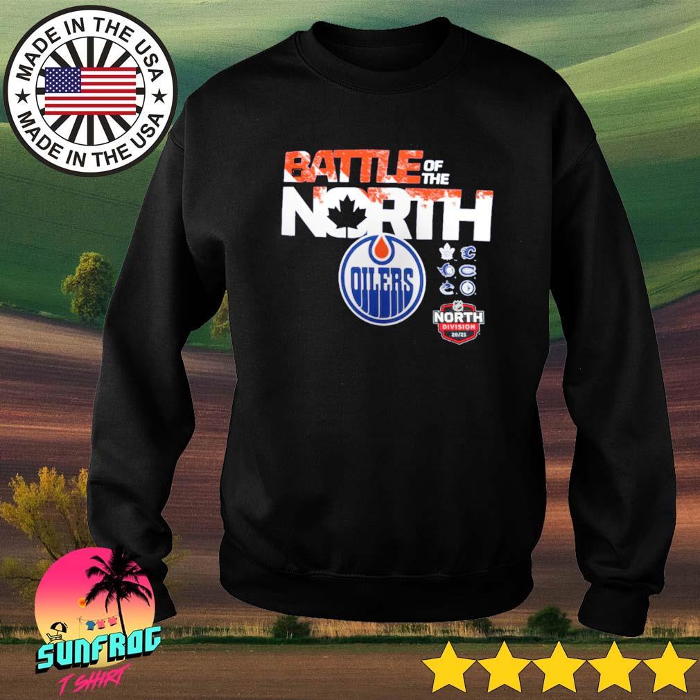 Edmonton Oilers Fanatics Branded Battle of the North Sweater