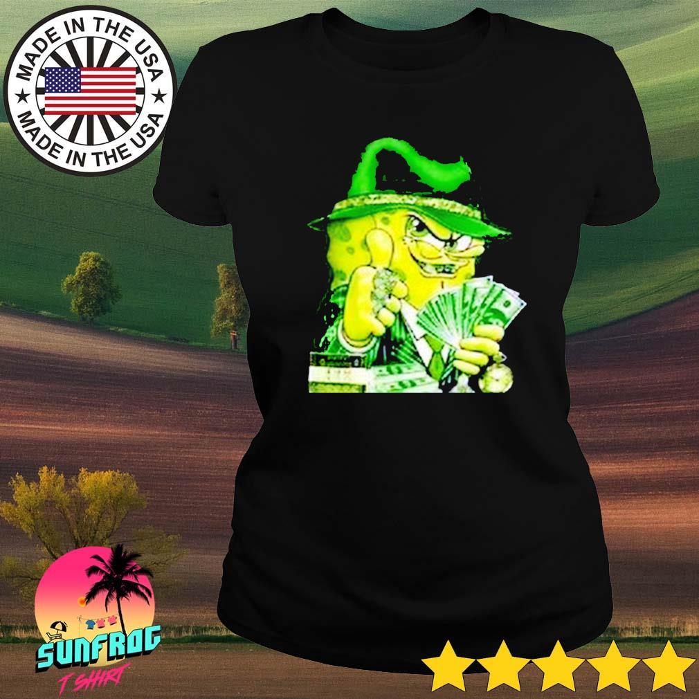 Gangster Spongebob Ladies tee