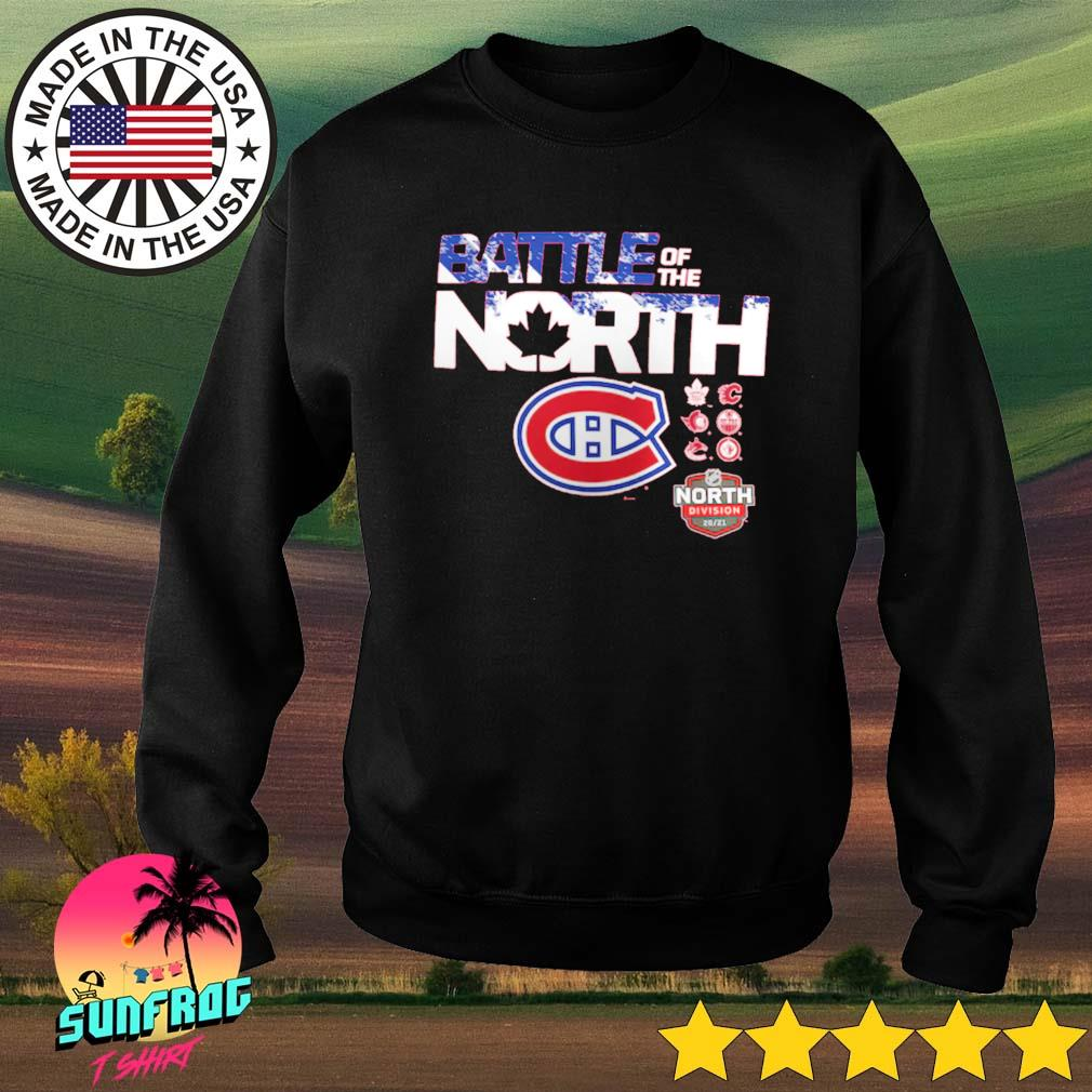 Montreal Canadiens Fanatics Branded Battle of the North Sweater