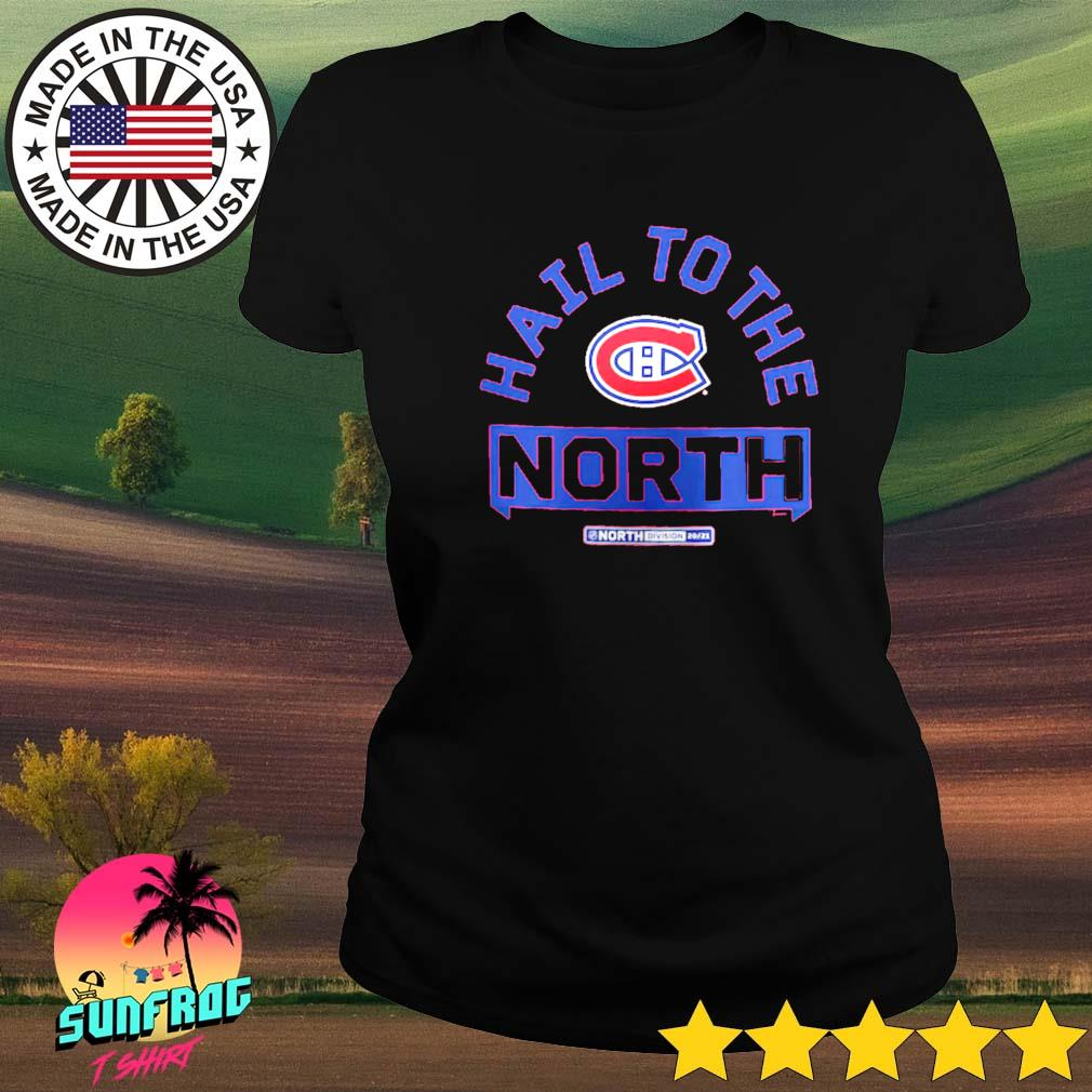 Montreal Canadiens Fanatics Branded Hail to the North Ladies tee