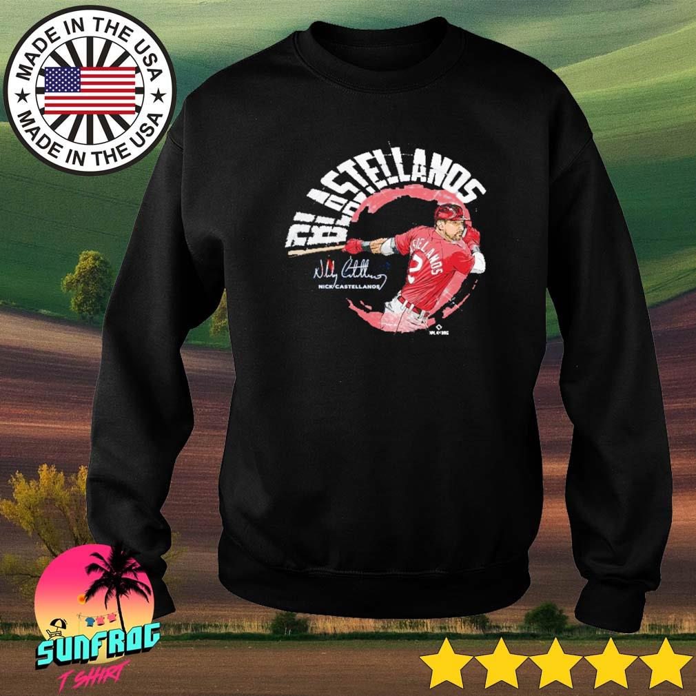Nick Castellanos Blastellanos signature Sweater