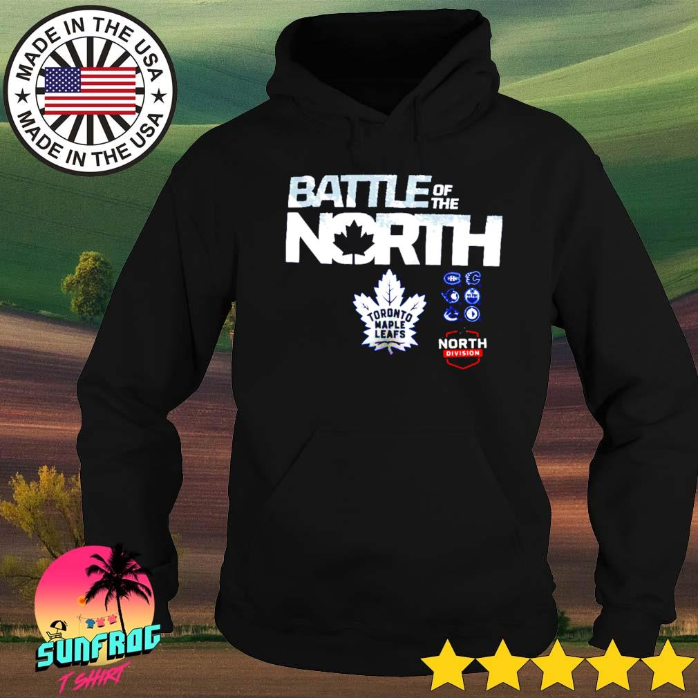 Toronto Maple Leafs Fanatics Branded Battle of the North Hoodie