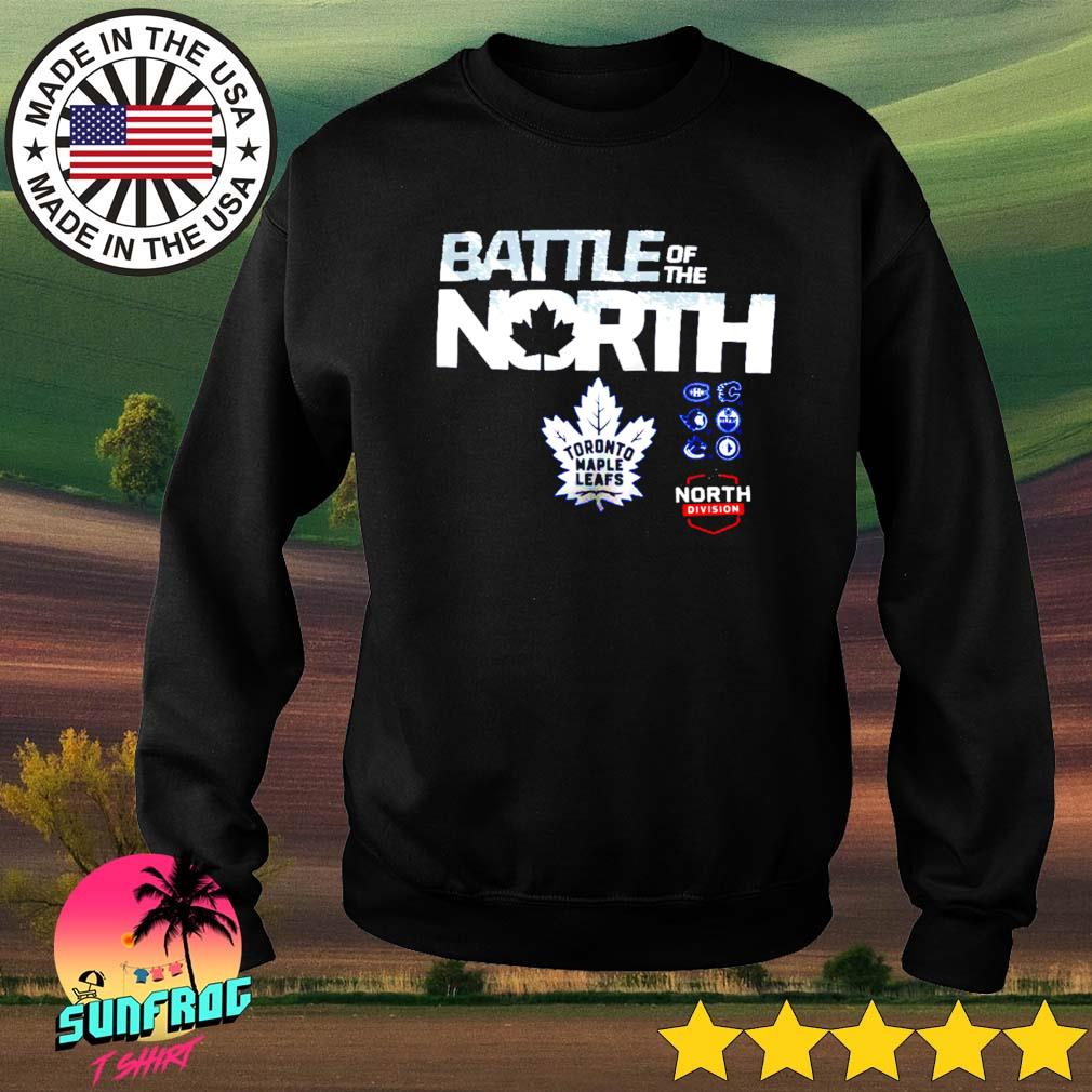 Toronto Maple Leafs Fanatics Branded Battle of the North Sweater