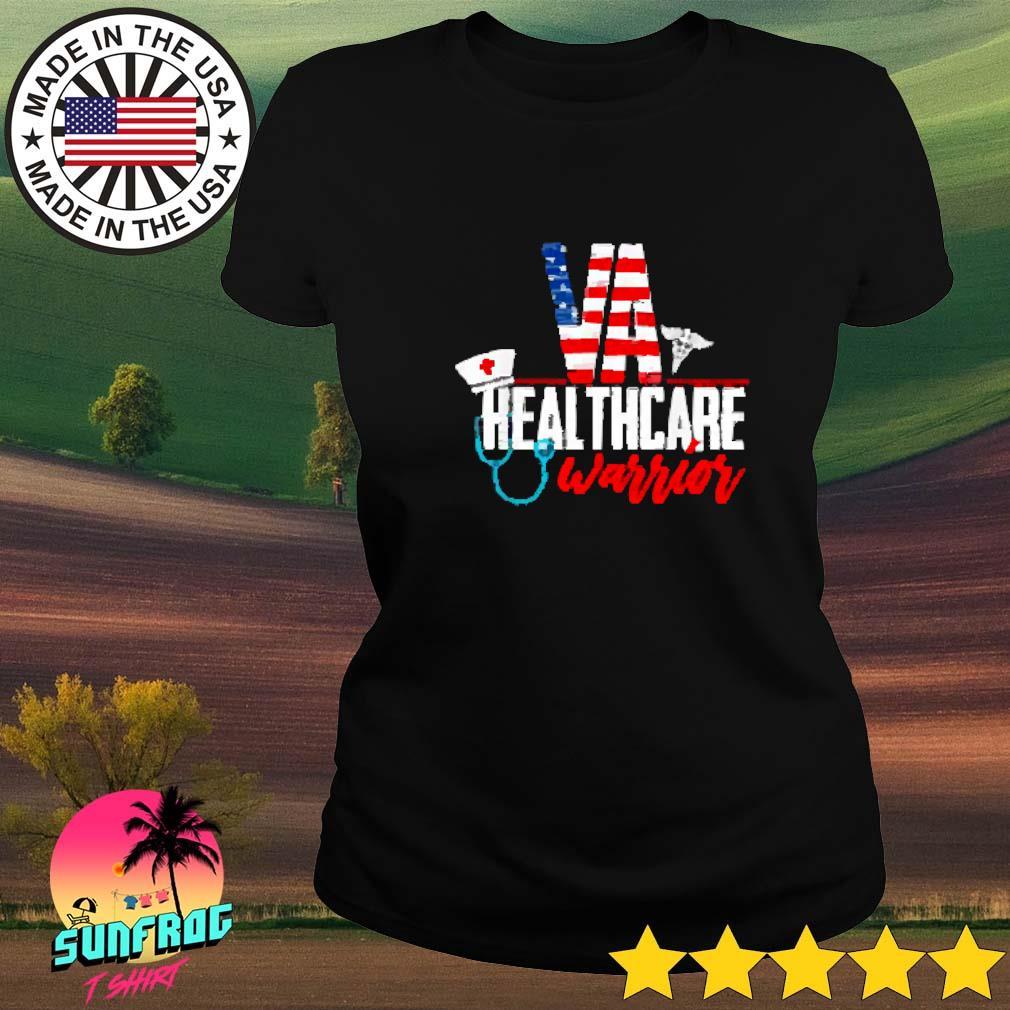 VA Health Care Warrior Ladies tee