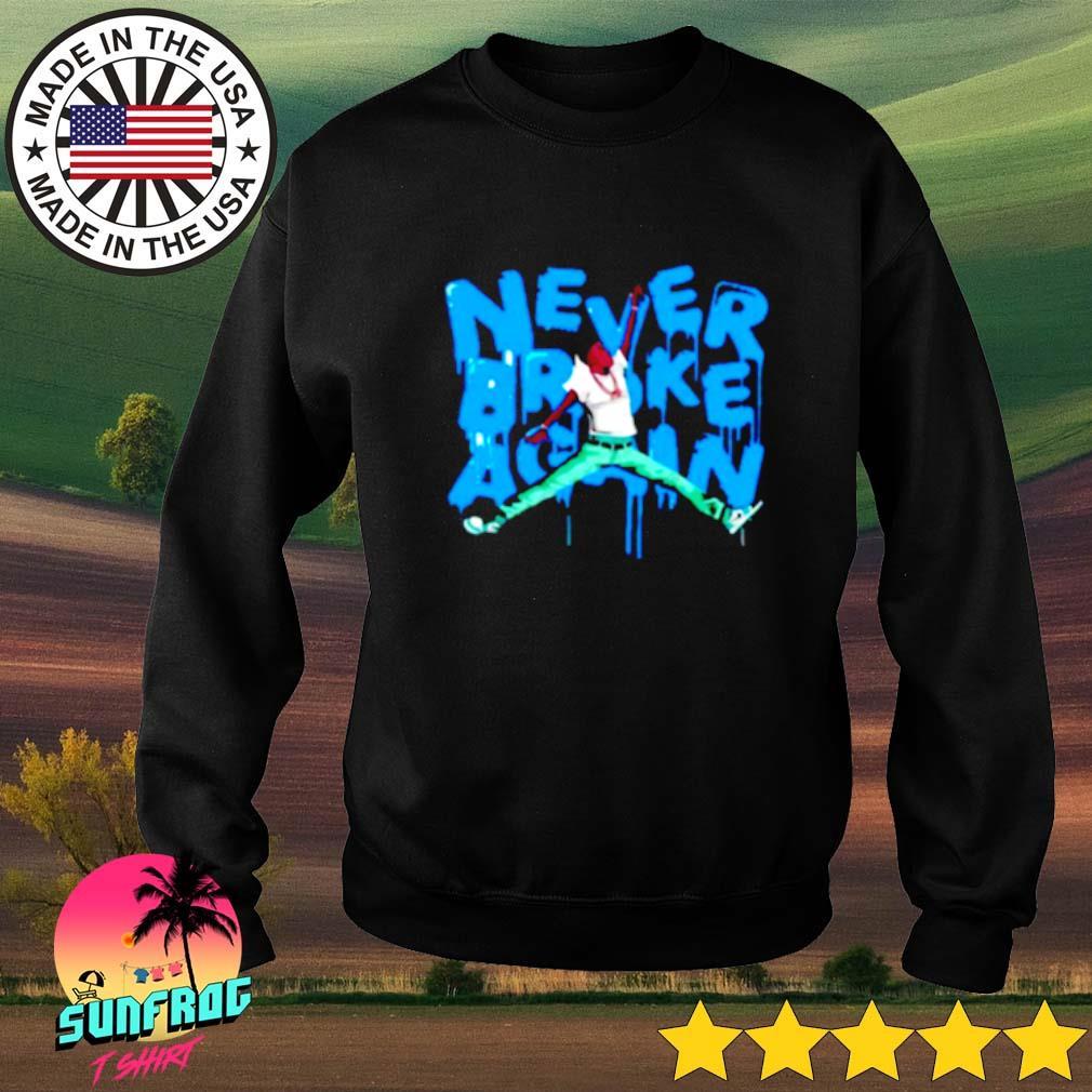 Never broke again NBA Sweater