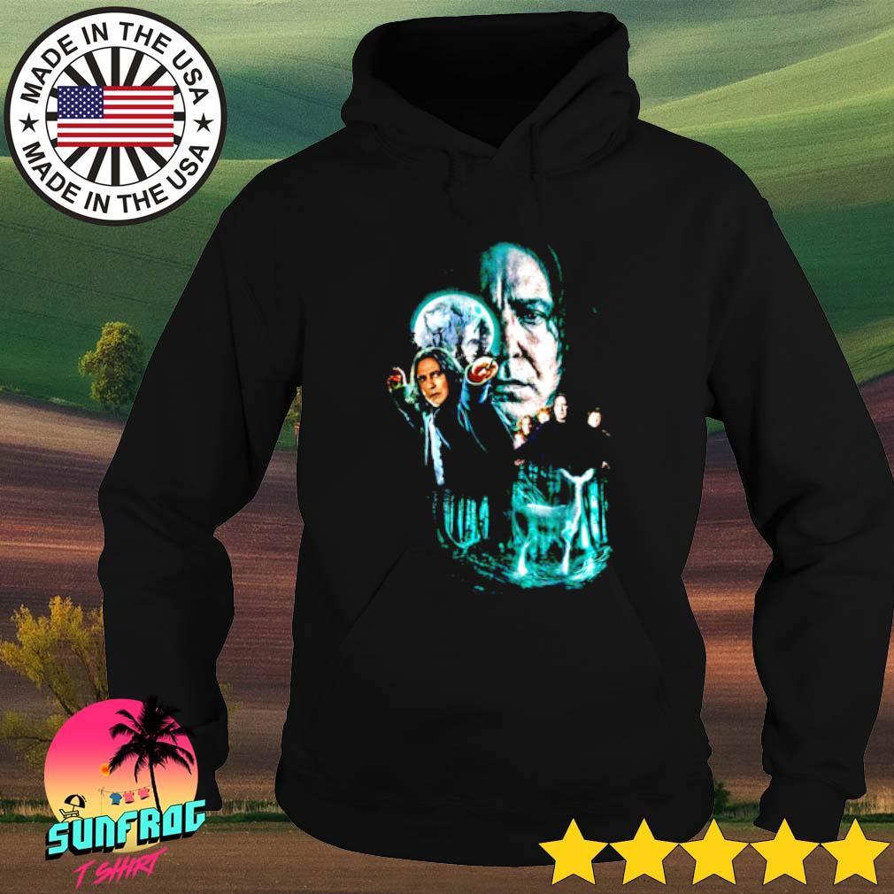 Professor Severus Snape moon and deer light Harry Potter Hoodie