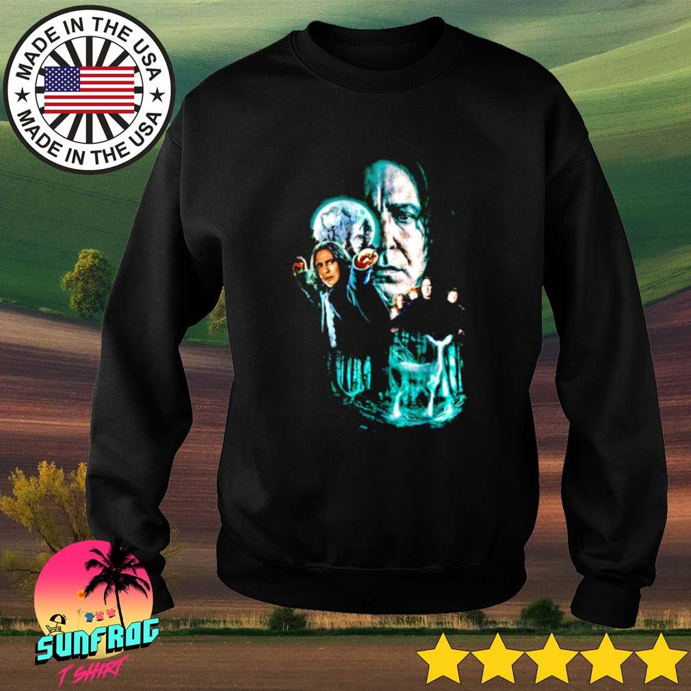 Professor Severus Snape moon and deer light Harry Potter Sweater