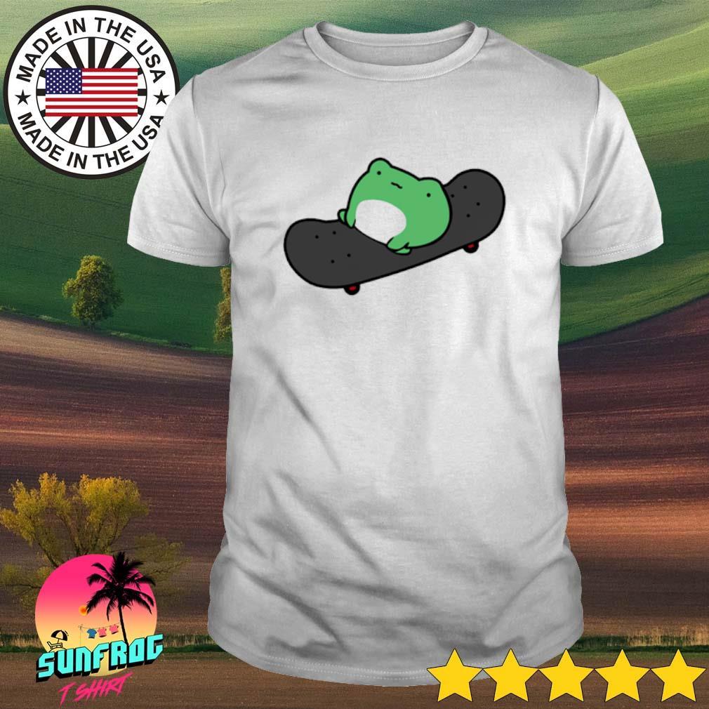 Skateboard frog shirt