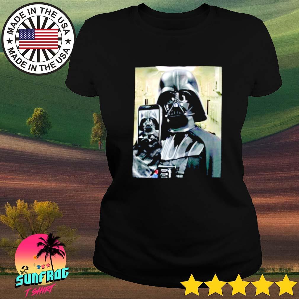 Star Wars Darth Vader Selfie Ladies tee