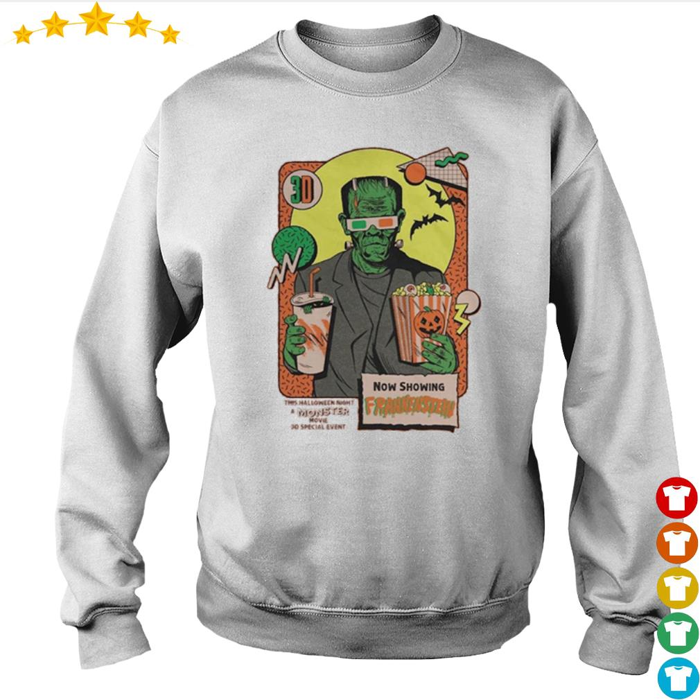 Now shopping Frankenstein this Halloween night moster movie s Sweater