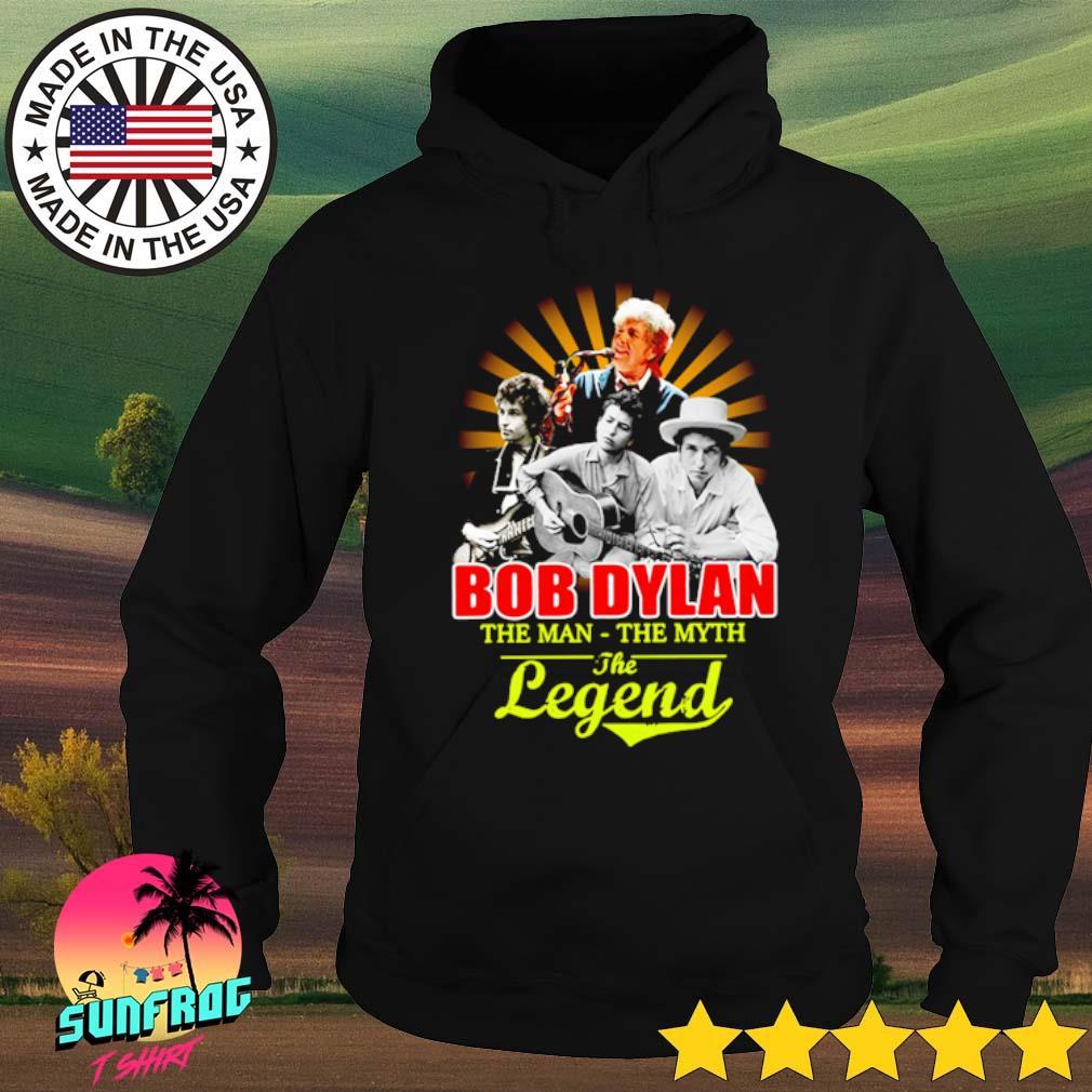 Bob Dylan the man the myth the legend s Hoodie Black