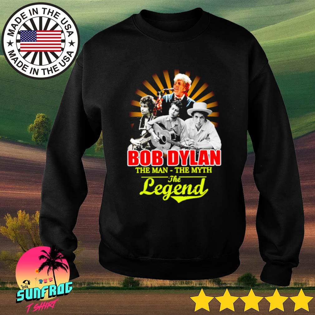 Bob Dylan the man the myth the legend s Sweater Black