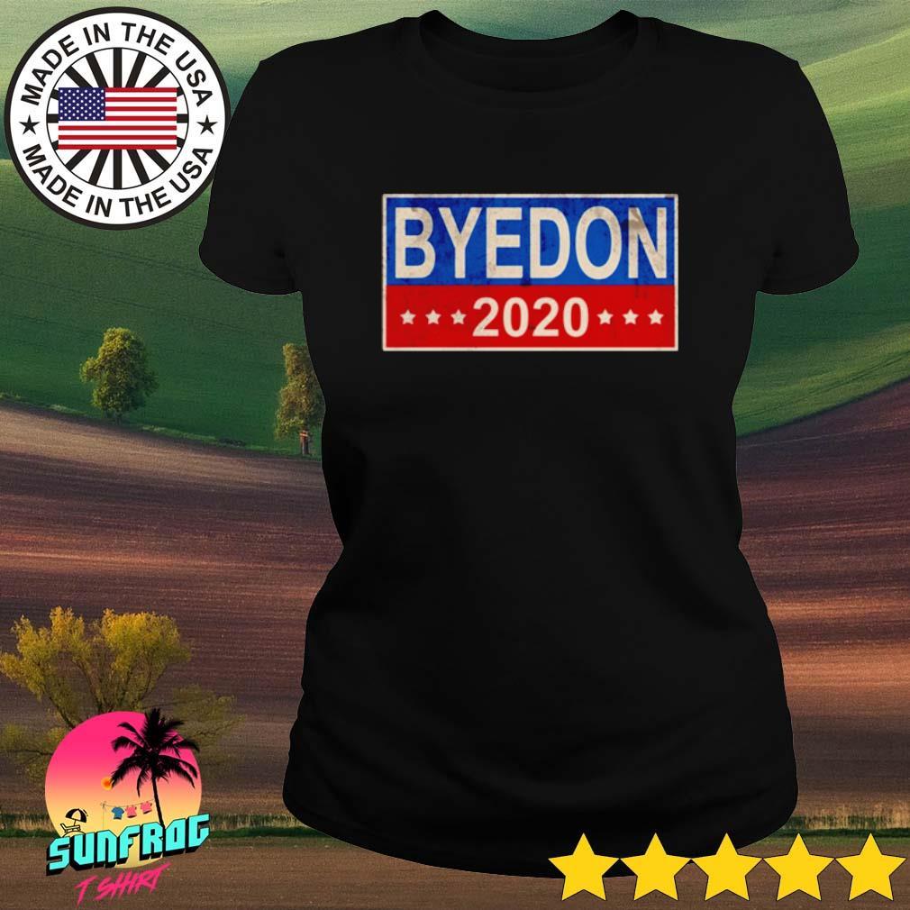 Byedon 2020 america s Ladies Tee Black