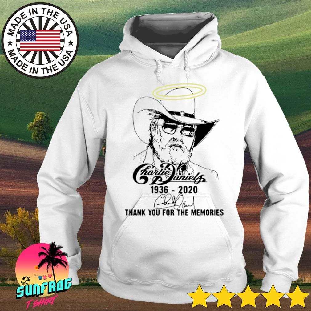 Charlie Daniels 1936-2020 thank you for the memories s Hoodie White