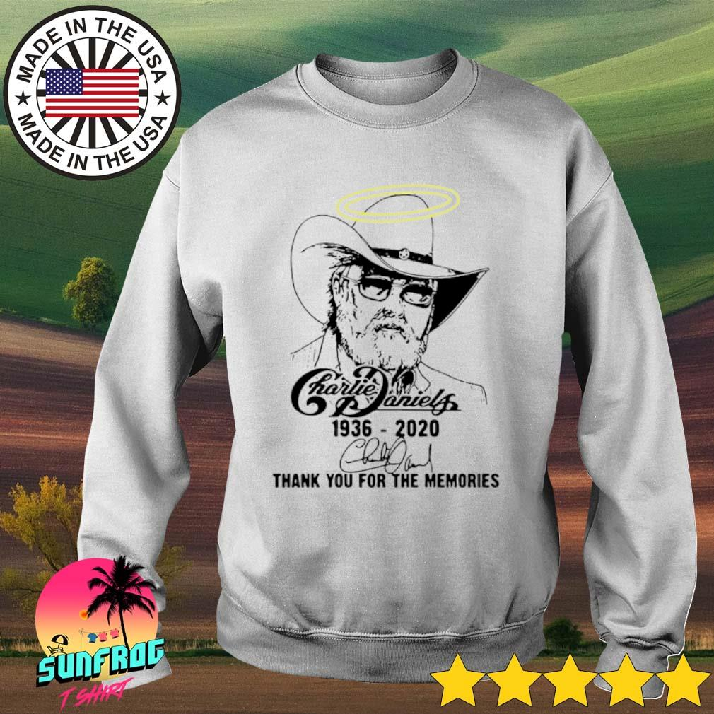 Charlie Daniels 1936-2020 thank you for the memories s Sweater White