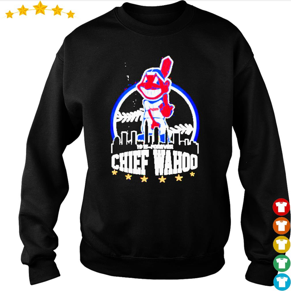 Cleveland Indians middle finger 1915 to forever Chief Wahoo s sweater