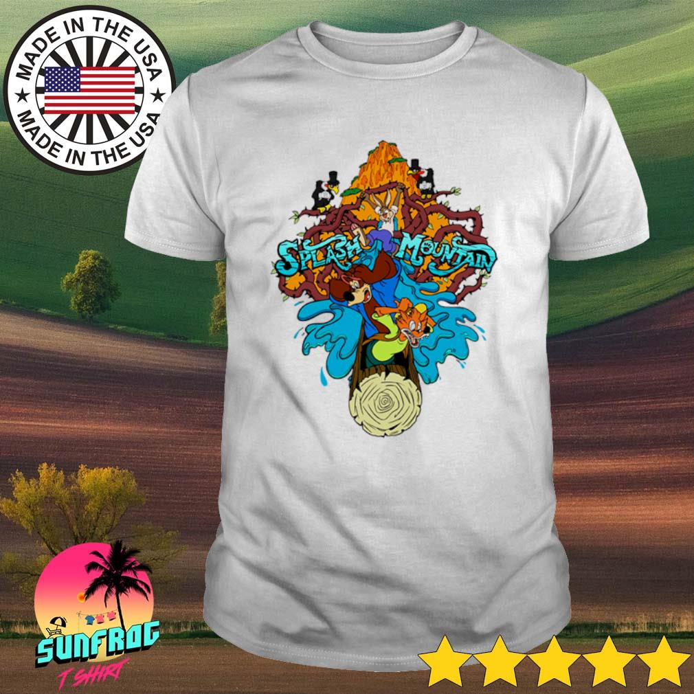 Disneyworld Splash Mountain shirt