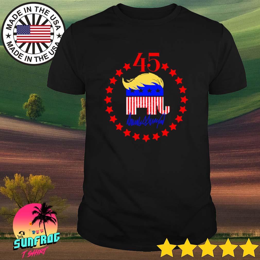 Donald Trump 2020 45th Republican Elephant shirt