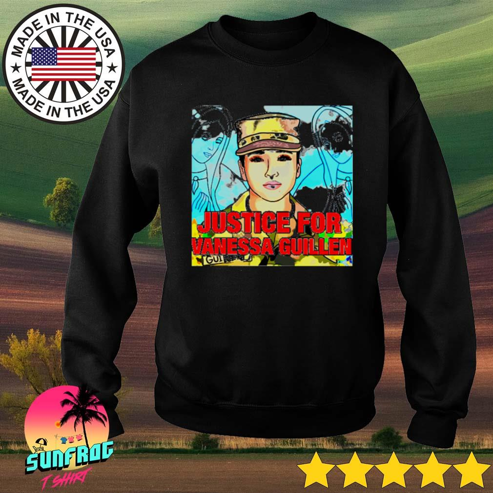 Justice for Vanessa Guillen s Sweater Black