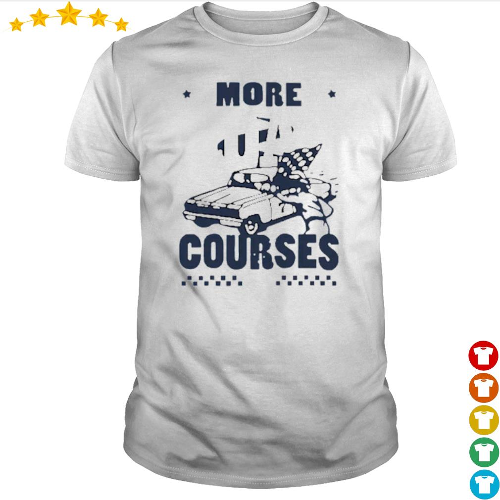 More Road Courses racing shirt