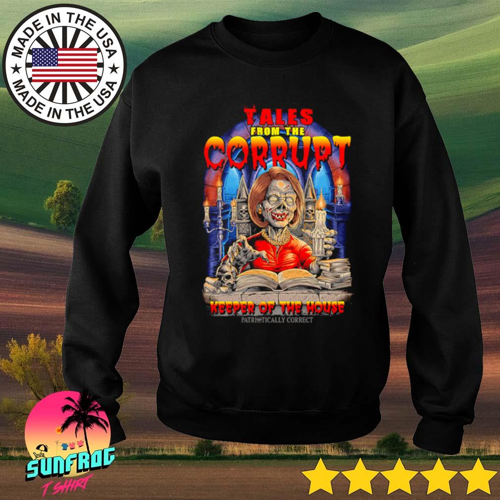 Nancy Pelosi Tales from the Corrupt keeper of the house s Sweater Black