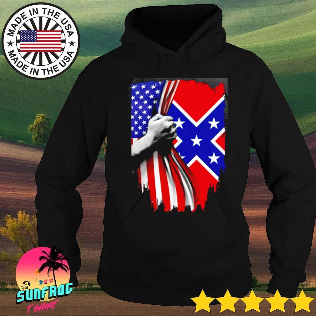 Southern United States Flag s Hoodie Black