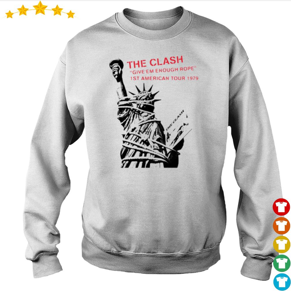 The clash give Em enough rope 1st American tour 1979 s Sweater