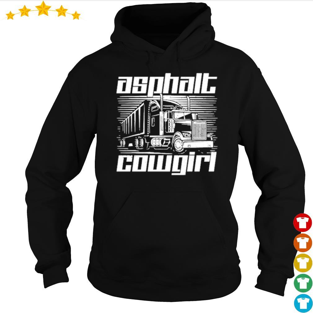 Truck Asphalt Cowgirl s hoodie