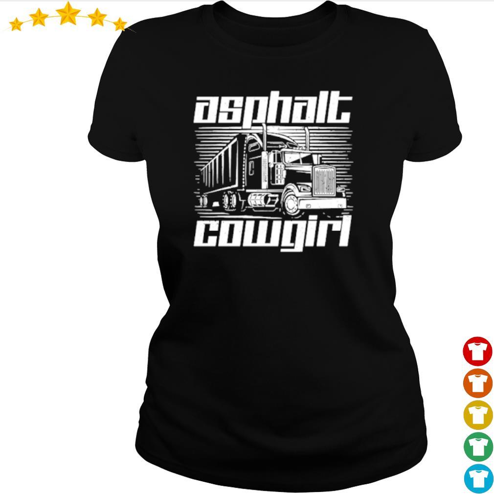 Truck Asphalt Cowgirl s ladies-tee