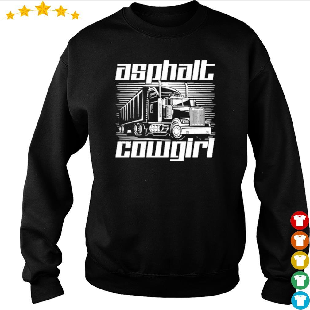 Truck Asphalt Cowgirl s sweater