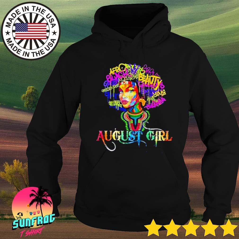 August girl LGBT s Hoodie Black