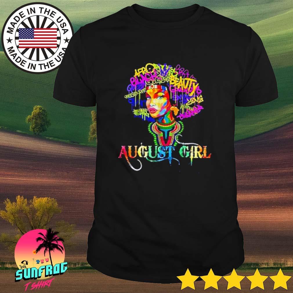 August girl LGBT shirt
