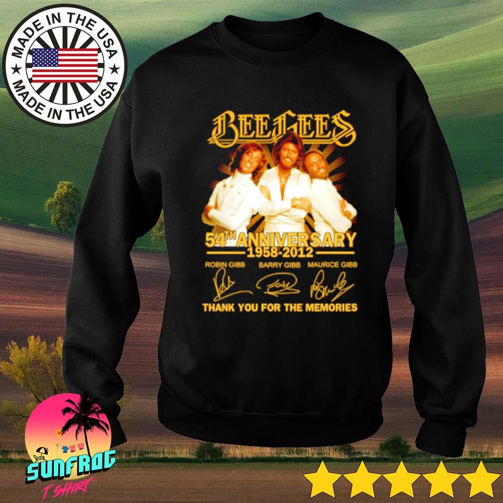 Bees Bees 54th Anniversary 1958-2012 thank you for the memories s Sweater Black