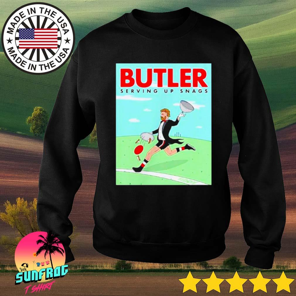 Butler Serving up snags s Sweater Black