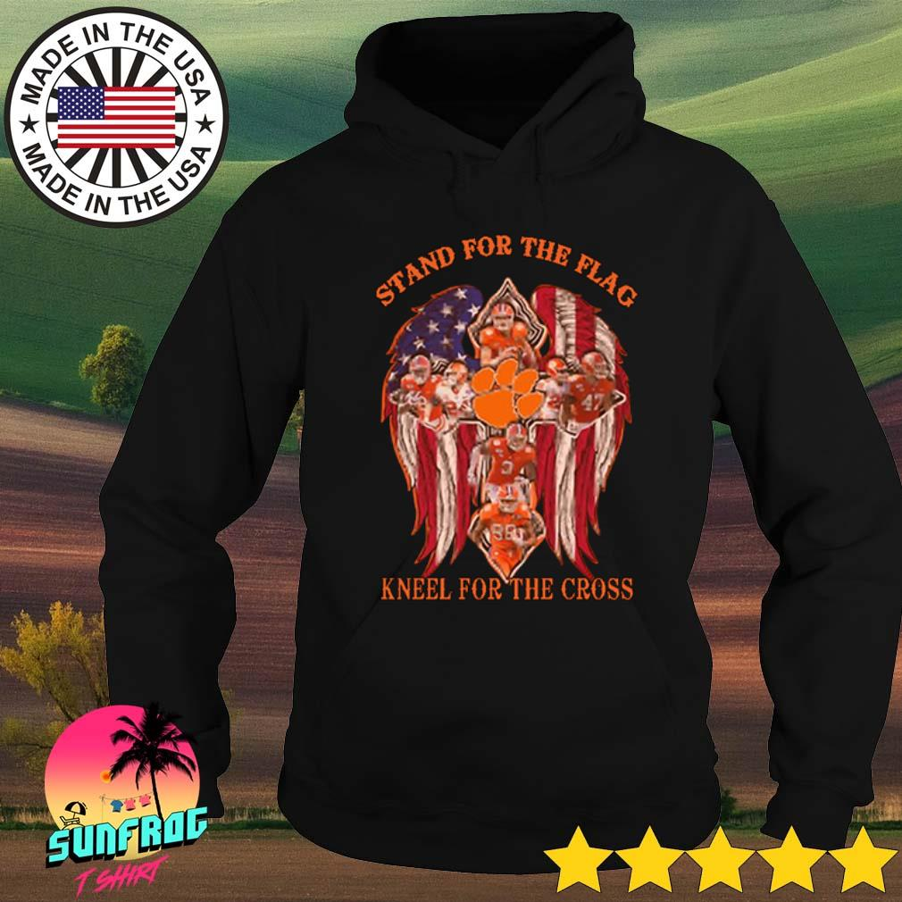 Clemson Tigers stand for the flag kneel for the cross s Hoodie Black