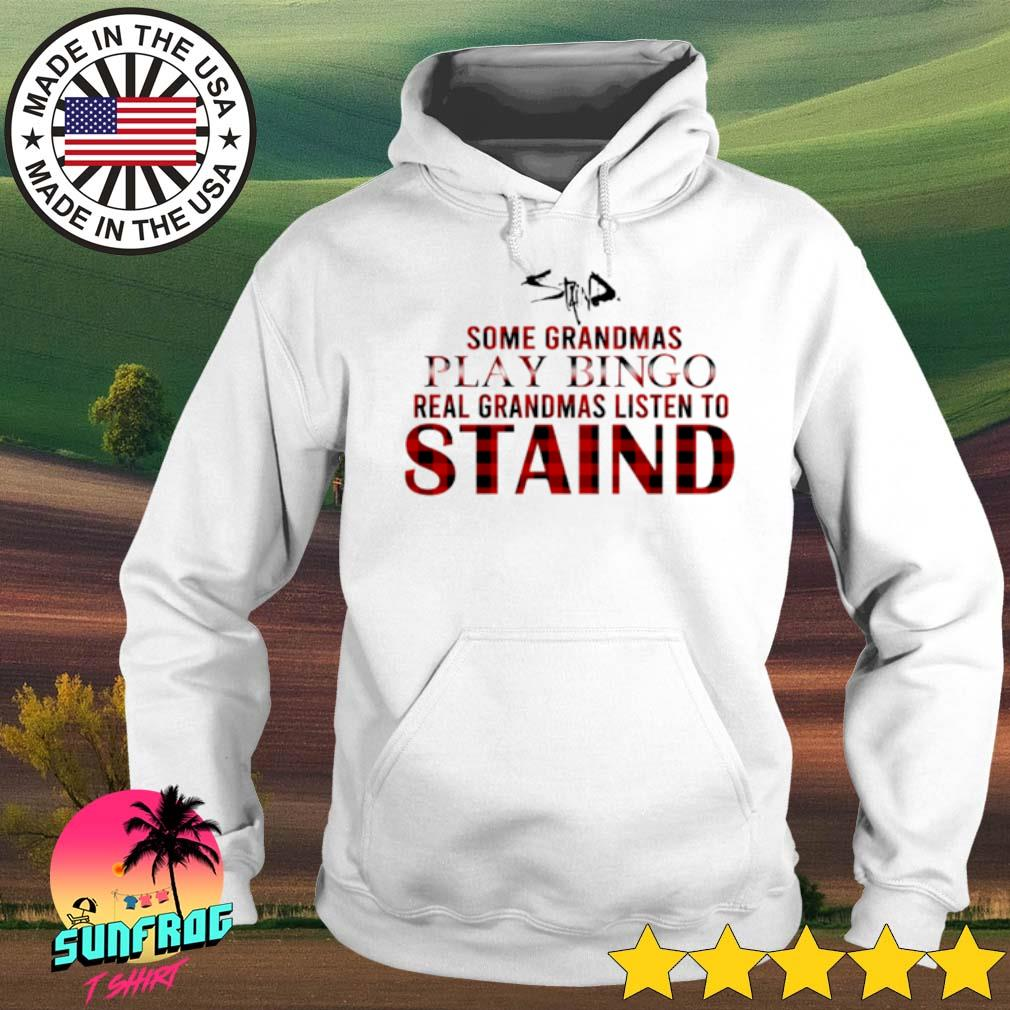 Some grandmas play bingo real grandmas listen to Staind s Hoodie White